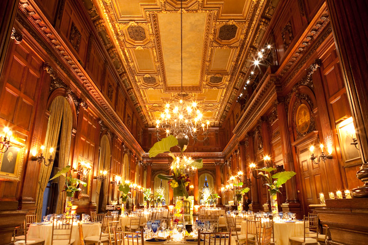Bridal Florist Nyc : Ted liz the university club wedding new york city