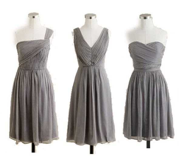 Gray Bridesmaid Dresses J Crew 50