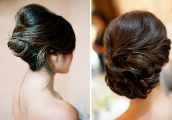 Hairstyles For Short Hair For Wedding Party : Hairstyles & Make-up ? NYC Wedding Photography Blog