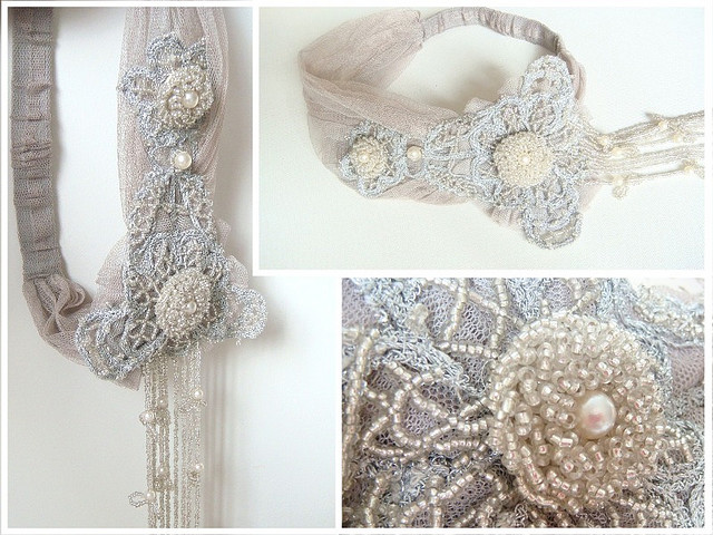 Fitzgerald 39s Flapper headpiece 1920s style hair pieces bridal