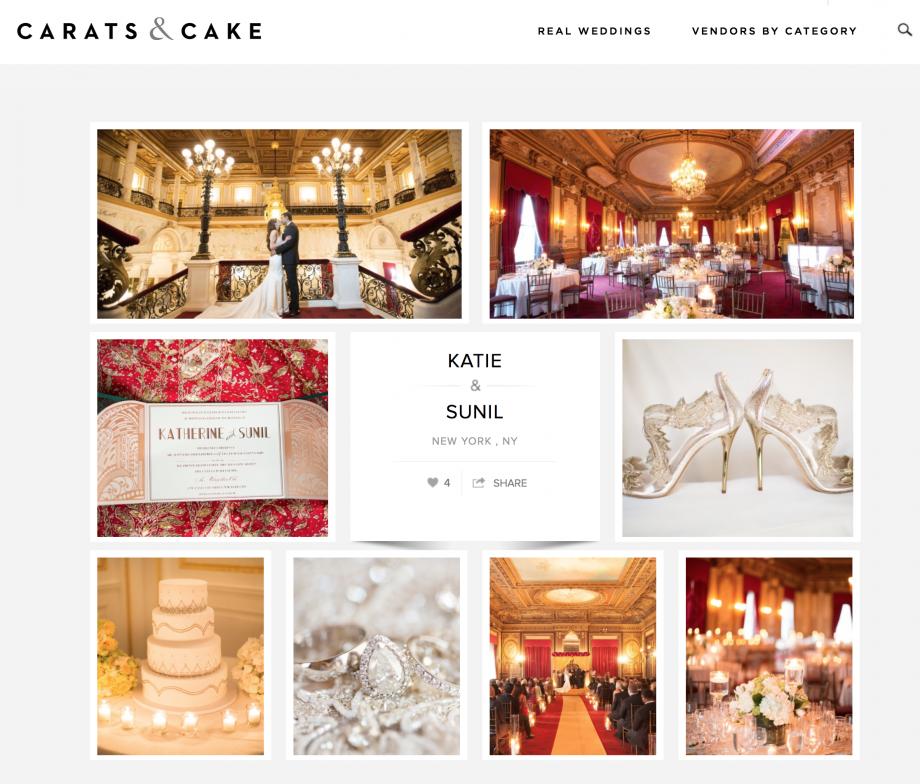 Carats & Cake | Katie & Sunil